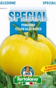POMODORO Yellow Gazzi Ribbed