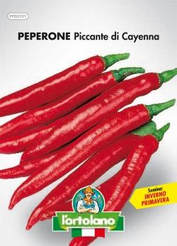 PEPERONE Piccante di Cayenna